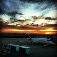 Photo taken at Delta Sky Club by Gustavo on 11/14/2012