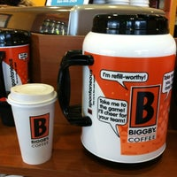 Photo taken at BIGGBY COFFEE by Chris S. on 10/20/2012