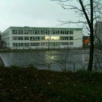 Photo taken at Гимназия №4 by Лена 🎉 Б. on 11/10/2012