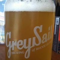 Photo taken at Grey Sail Brewing of Rhode Island by Jenny M. on 7/6/2013