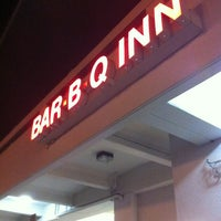 Photo taken at Bar-B-Q-Inn by Greg on 1/26/2013