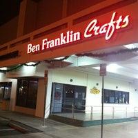 Photo taken at Ben Franklin Crafts by Greg on 11/9/2012