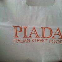 Photo taken at Piada Italian Street Food by Sami P. on 1/1/2013