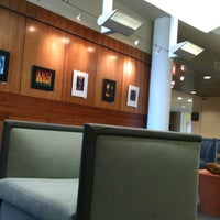 Photo taken at Duane G Meyer Library by Ashley on 10/3/2012