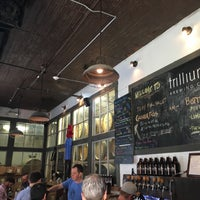 Photo taken at Trillium Brewing Company by Don W. on 5/20/2016