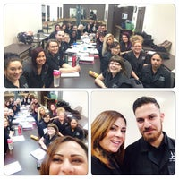 Photo taken at Delmar College of Hair and Esthetics by Lina on 12/4/2014