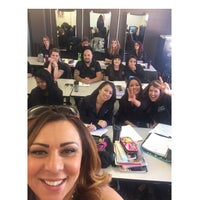 Photo taken at Delmar College of Hair and Esthetics by Lina on 9/15/2014