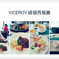 Photo taken at 總督西餐廳 Viceroy by HanHan L. on 6/7/2014