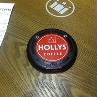 Photo taken at HOLLYS COFFEE by Autumn M. on 8/29/2013