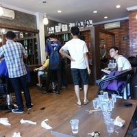 Photo taken at Uncle Do Barbershop by raja basthian b. on 11/9/2013