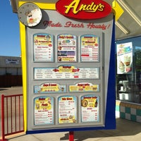 Photo taken at Andy's Custard by Kenzie B. on 5/5/2013
