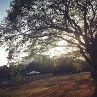 Photo taken at Sunken Garden by Princess Dianne Kris D. on 2/11/2013