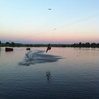 Photo taken at Mārupe Wake Park by Vol-T on 6/8/2014