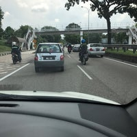 Photo taken at Pasir Gudang Highway by yanti a. on 6/10/2017