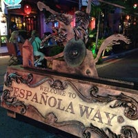 Photo taken at Espanola Way Village by Amanda F. on 6/3/2013