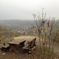 Photo taken at Rudelsburg Picknickplatz by Dirk on 10/24/2012