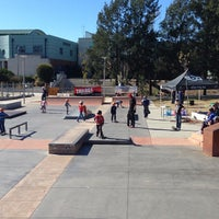 Photo taken at Belconnen Skate Park by Trilogy on 5/18/2013