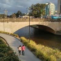 Photo taken at Riverside walk by Ross B. on 12/31/2013