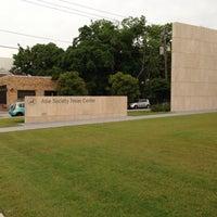 Photo taken at Asia Society Texas Center by Tan N. on 5/26/2013