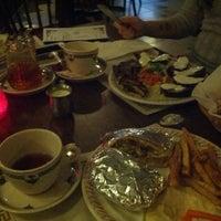Photo taken at Mamoun's Mideast Cafe by Kim o. on 3/22/2013
