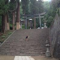 Photo taken at 妙義神社 by Akiko on 6/2/2013