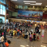 Photo taken at Terminal 1 by Htin Kyaw L. on 7/9/2013