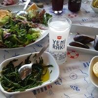 Photo taken at Girit Adası Balıkevi by Elâ on 4/21/2018