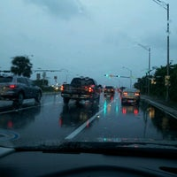 Photo taken at I-95 at Ives Dairy Road by Lil Bit 407 on 10/25/2012