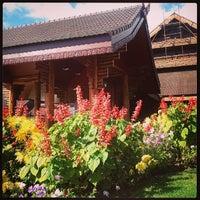 Photo taken at Doi Tung Royal Villa by Majung M. on 11/16/2013