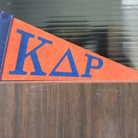 Photo taken at Kappa Delta Rho National Office by Bryan F. on 1/23/2013