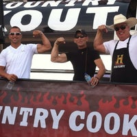 Photo taken at HISTORY Cross-Country Cookout by Trace on 7/7/2013