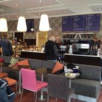 Photo taken at Wayne's Coffee by Signe B. on 4/25/2013