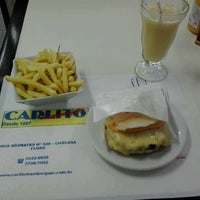 Photo taken at Carlito Hamburguer by Bruno C. on 12/28/2012