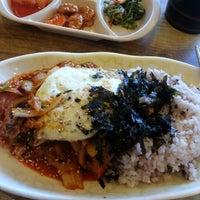 Photo taken at 김밥천국 by 심량 on 10/2/2012