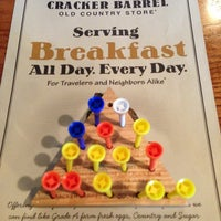 Photo taken at Cracker Barrel Old Country Store by Jay W. on 6/23/2013