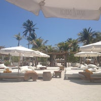 Photo taken at Nikki Beach Miami by Joyce on 4/12/2013