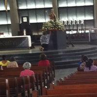 Photo taken at Catedral Metropolitana de Nossa Senhora da Apresentação by Giselle Andrade on 3/18/2013