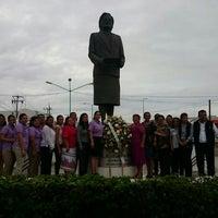 Photo taken at Monumento A Maria Lavalle Urbina by Luz Stivalis L. on 10/17/2014