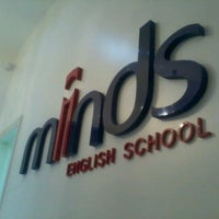 Photo taken at Minds English School by Carla R. on 10/5/2012