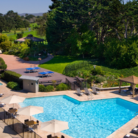 Photo taken at Hyatt Regency Monterey Hotel and Spa on Del Monte Golf Course by Hyatt Regency on 3/4/2014