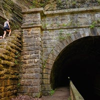 Photo taken at Paw Paw Tunnel by Bikabout on 10/26/2016