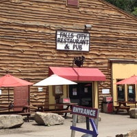 Photo taken at Falls City Restaurant & Pub by Bikabout on 10/26/2016