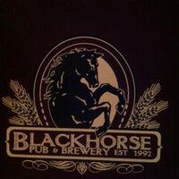 Photo taken at Blackhorse Pub & Brewery by Trisha on 7/13/2013