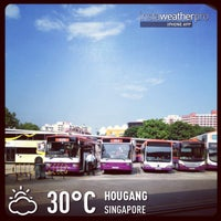 Photo taken at Hougang Central Bus Interchange by @justbeingarlyn on 11/30/2012