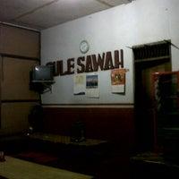 Photo taken at Sate gulai sawah by sulis s. on 4/16/2013
