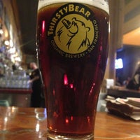 Photo taken at ThirstyBear Brewing Company by Will B. on 3/2/2013