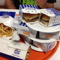 Photo taken at White Castle by Will M. on 9/14/2012