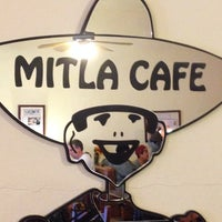 Photo taken at Mitla Cafe by Terry D. on 1/26/2014