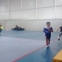 Photo taken at Polideportivo Martin Vargas by Marcelo E. on 5/2/2016