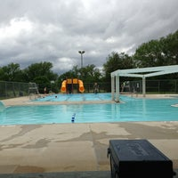 Photo taken at Northwood Pool by Brooke B. on 5/30/2013